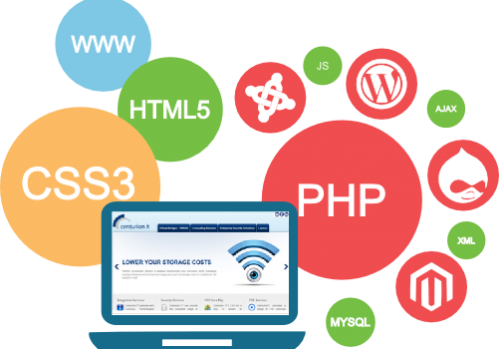 Web design and web app development