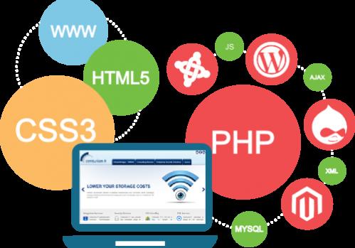 Web design and web app development
