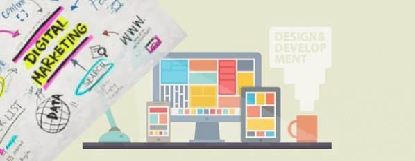 Website development and digital marketing