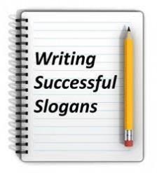Slogan writing