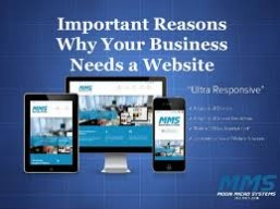 You Need a Website?