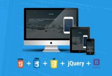Build a modern and responsive website