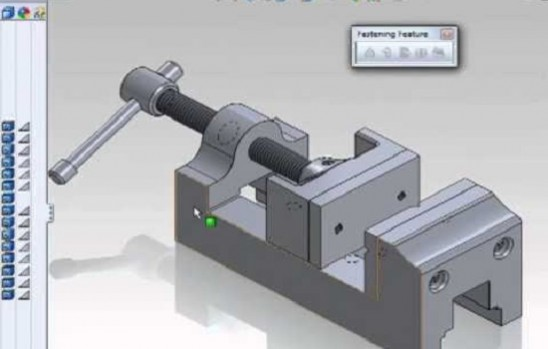 2D and 3Dmodel designs with SOLIDWORKS and AUTODESK INVENTOR