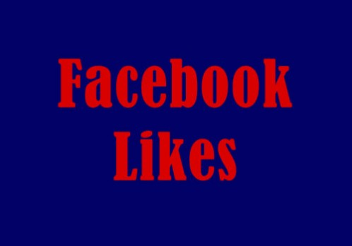 Add 2000 Permanent Facebook Likes