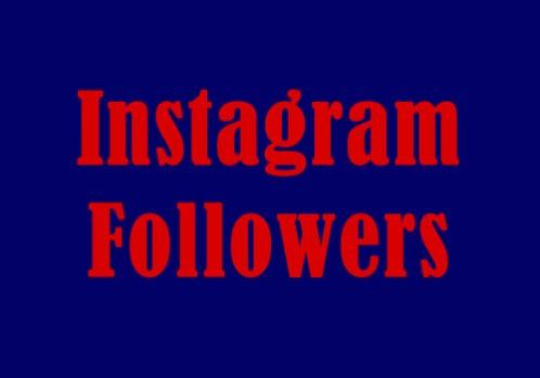 Add 1000 Instagram Followers to profile
