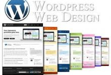 Standard WordPress website design