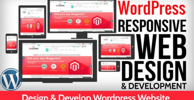 Design a professional wordpress website